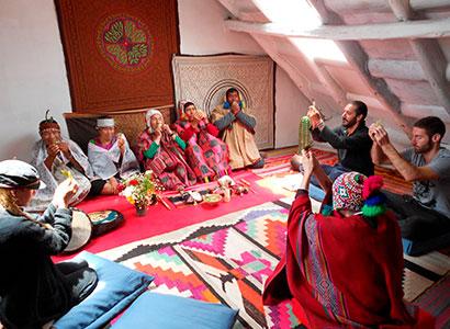 Sesión de Ayahuasca