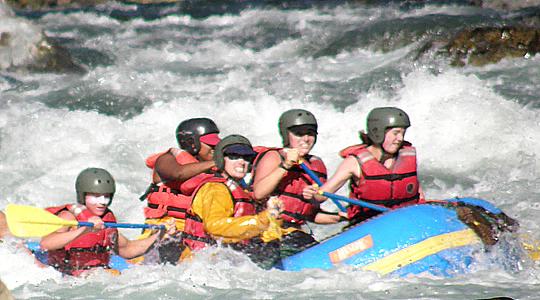 Canotaje en el Río Vilcanota 2 días