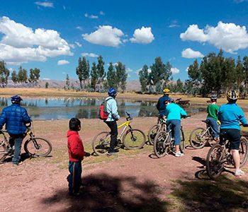 Tour de aventura en Cusco, Biking en Yuncaypata 1 día